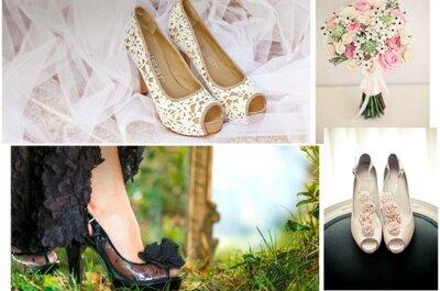 Nuevo estilo en zapatos para boda de verano