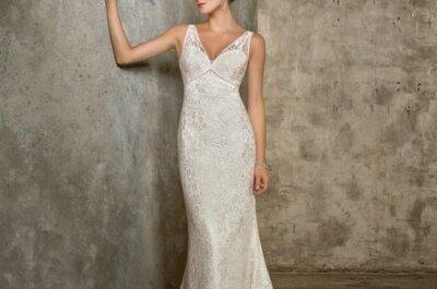 Vestidos de noiva com renda Mori Lee Coleção 2013