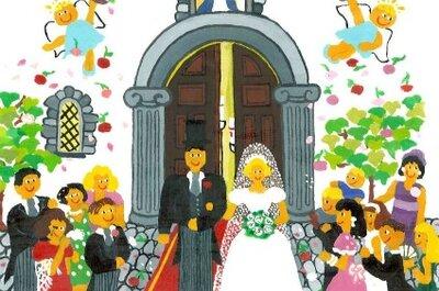 Propuestas clave para una boda de estilo naif