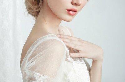 Combinações perfeitas de penteados e maquilhagem para o seu casamento