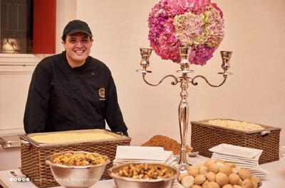 Las 4 mejores empresas de catering para boda en Cali