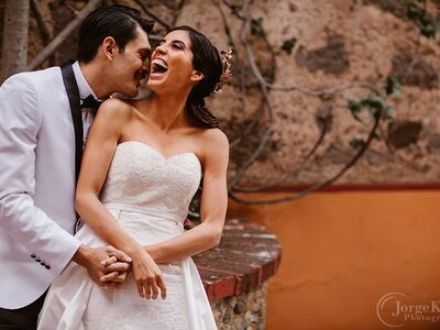 Black and White: La boda de Gabriela y Guillermo