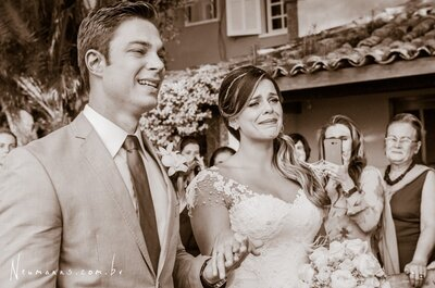 Casamento inesquecível de Fernanda e Alex: emoção à flor da pele em Búzios