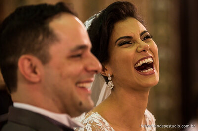 Luana & Rudney: um casamento clássico e romântico no Rio de Janeiro!