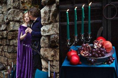 Как организовать свадьбу в средневеком стиле?