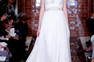 Vestidos de novia Reem Acra otoño 2013