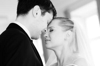 Hochzeit mit Herz, Leidenschaft & futuristischem Flair: So heirateten Tatiana und Julius!
