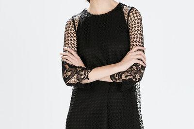 Vestidos de festa estilosos para convidadas da nova coleção Zara 2015