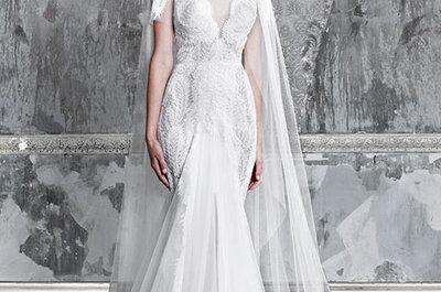 Pallas Couture 2015: Vestidos de novia confeccionados con los más finos encajes y sedas preciosas