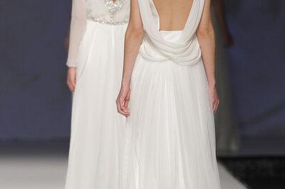 Bruidsjurken met blote rug van vijf geweldige ontwerpers