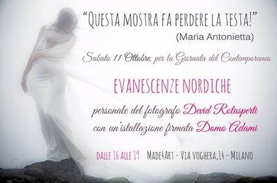 Devid Rotasperti presenta a Milano la personale 'Evanescenze nordiche': sogno o son desto?