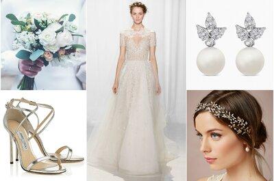 Un look de novia inspirado en las diosas del Olimpo