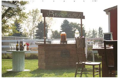 Barras de bebidas originales para tu boda