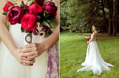 Manicura para novias 2016, nuevas tendencias. ¡Colores y decoración en tus manos!