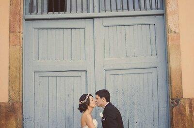 El mundo es un pañuelo: la boda de Silvia y Santi