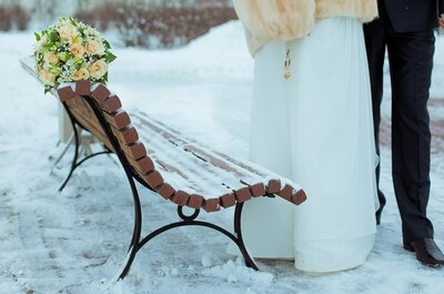 How to plan a perfect winter wonderland wedding