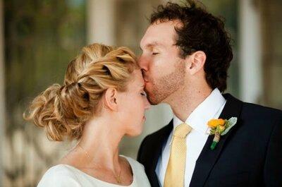 Treccia raccolta e treccia liscia: è lei la regina delle acconciature da sposa!