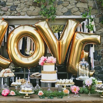 Fab ideas to decorate your wedding day with balloons!