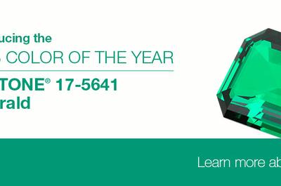 Pantone presenta al Emerald como el color del año para bodas 2013