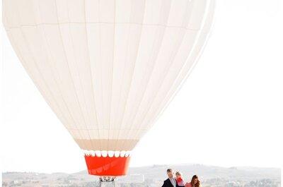 Balonismo: um início de história a dois