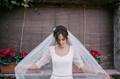 6 tipos de manga larga para tu vestido de novia: que el frío no sea un inconveniente