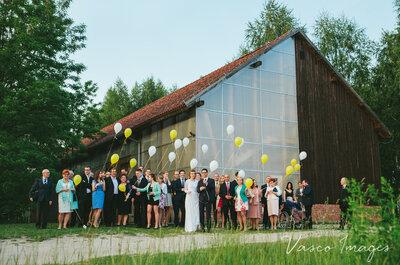 Tylko tak jedyne wesele w stodole wszystkich świętych! Nie przegap!