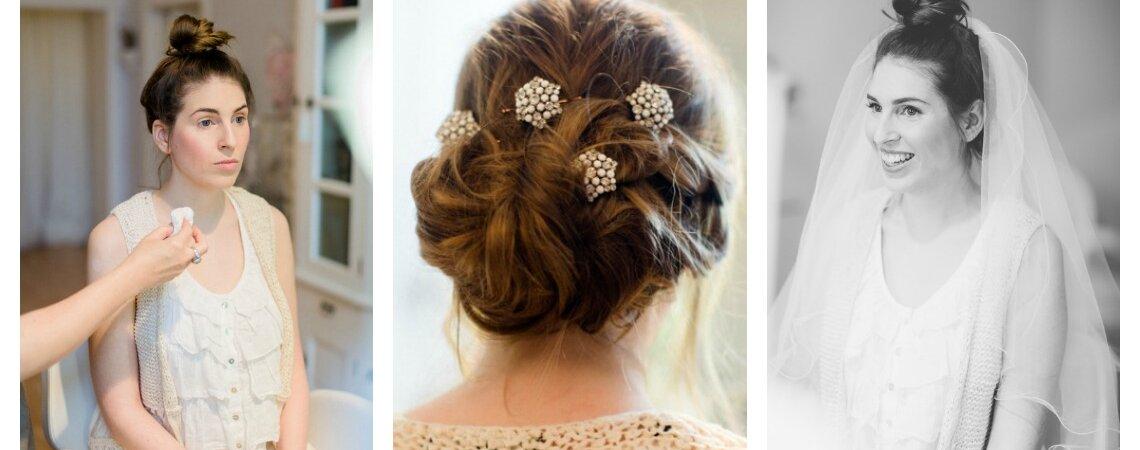 Wie sieht Teresa's Brautstyling aus? Und wie soll Mirko's Frisur für die Hochzeit aussehen?