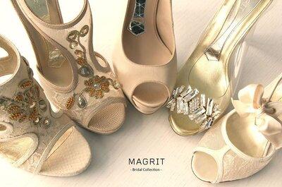 Consigue los zapatos de novia más ideales con el concurso de Magrit y Zankyou