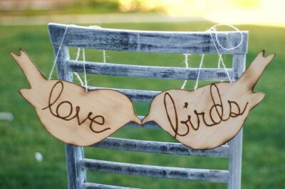 Bird Wedding Themes: Sweet New Wedding Trend for 2013?