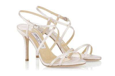 Sandalen met hak voor de bruid 2015: de perfecte bruidsschoenen voor dit seizoen