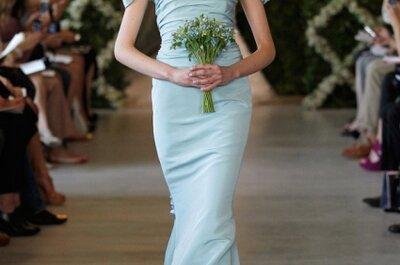 Tendencias de vestidos azules para novia Primavera 2013: el nuevo color de la elegancia