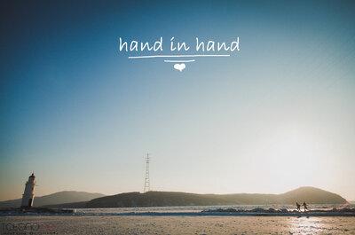Романтическая фотосессия для двоих: Hand in Hand