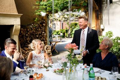 Speechen op de bruiloft: do's and don'ts