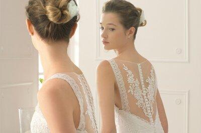 Auswahl an Brautkleidern von Aire Barcelona 2015