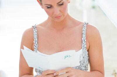 Come scrivere un perfetto discorso di nozze: 9 consigli preziosi