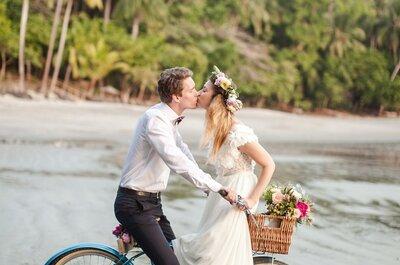 Conviértete en una novia eco-friendly: Todos los tips para cuidar al ambiente en tu boda