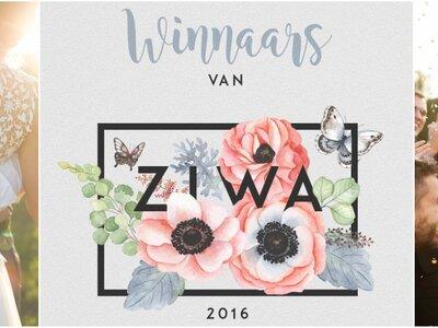 De winnaars van de Nederlandse Zankyou International Wedding Awards 2016 op een rijtje!