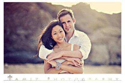 Romántica sesión de fotos pre boda de Jennifer y Joe en Maui