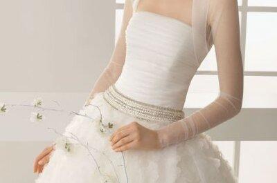 Boleros para novias de la Colección 2013 de Rosa Clará