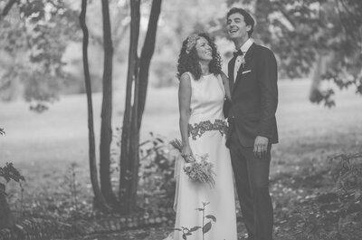 Una novia que derrocha ilusión: la boda de Carmen y Hugo