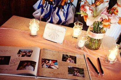 Aparat fotograficzny na weselu - pomysł na oryginalną księgę gości ze zdjęciami.