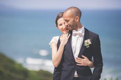 Elle est Basque, il est Réunionnais et Corse : Le mariage coloré de Bénédicte et David