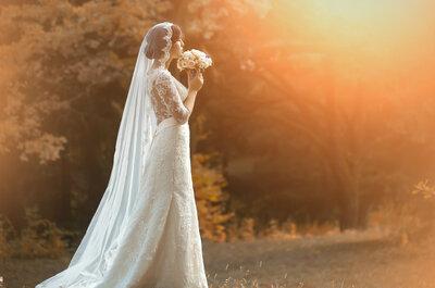 El velo de novia: la importancia y el significado de este accesorio
