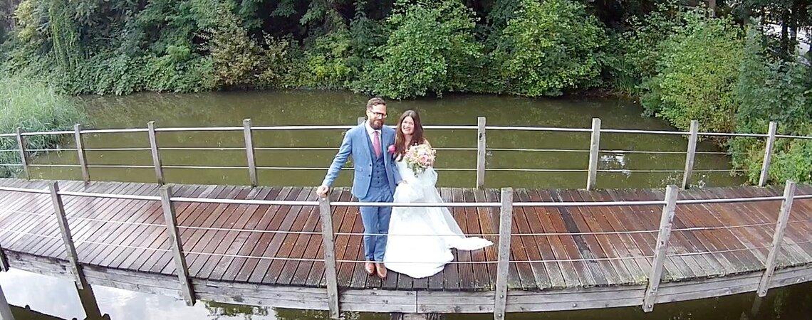 Je bruiloft gefilmd vanuit de lucht!