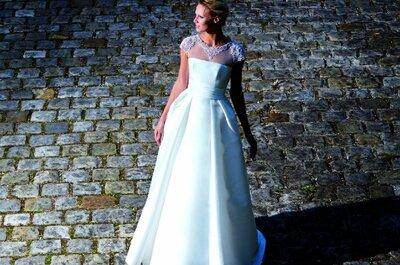 Comment choisir ma robe de mariée si je n'aime pas mes bras? Les conseils de Cymbeline