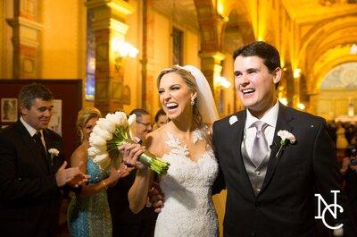 Casamento clássico de Paola & João Luis em Porto Alegre: perfeito em todos os detalhes!