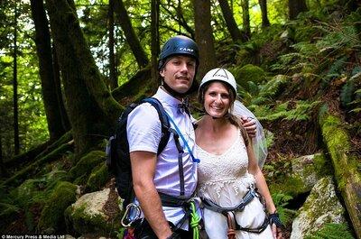 Una ceremonia única: escalada y ¡Sí, quiero! en la cima de una montaña