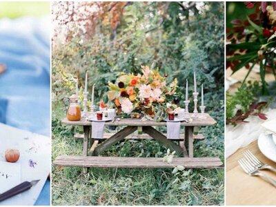 Entdecken Sie diese zauberhafte Herbstdekoration, sollten Sie jetzt heiraten!
