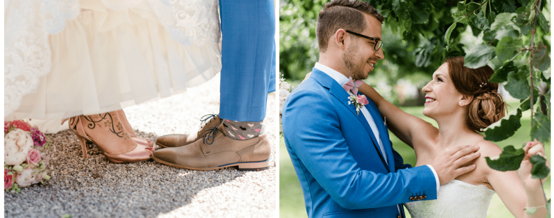 Edith & Robert: Open-Air-Hochzeit in den Farben des Sommers