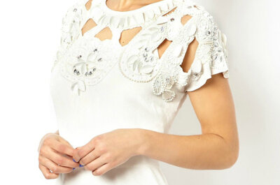Vestidos de noivas 'low cost' e com estilo!